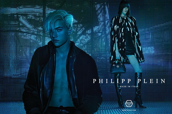CAMPAIGN Lucky Blue Smith for Philipp Plein Fall 2015 by Steven Klein. www.imageamplified.com, Image Amplified (5)