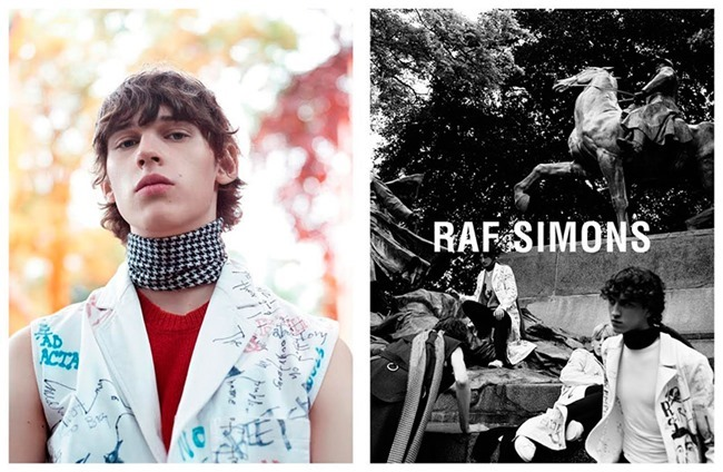 CAMPAIGN Raf Simons Fall 2015 by Willy Vanderperre. Olivier Rizzo, www.imageamplified.com, Image Amplified (1)