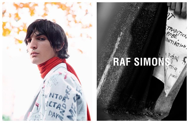 CAMPAIGN Raf Simons Fall 2015 by Willy Vanderperre. Olivier Rizzo, www.imageamplified.com, Image Amplified (2)