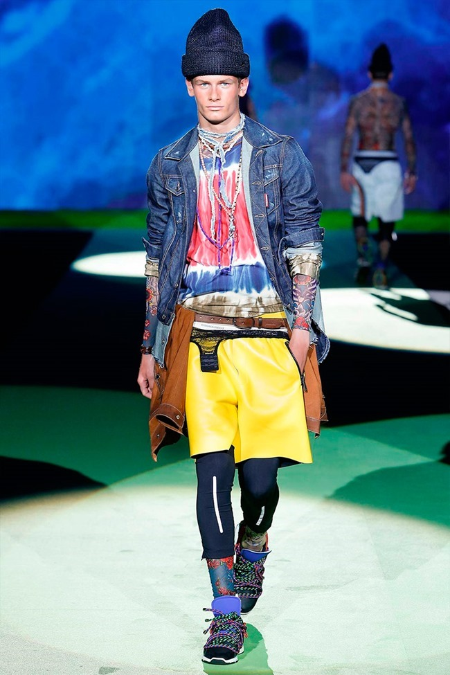 MILAN FASHION WEEK Dsquared2 Spring 2016. www.imageamplified.com, Image Amplified (16)