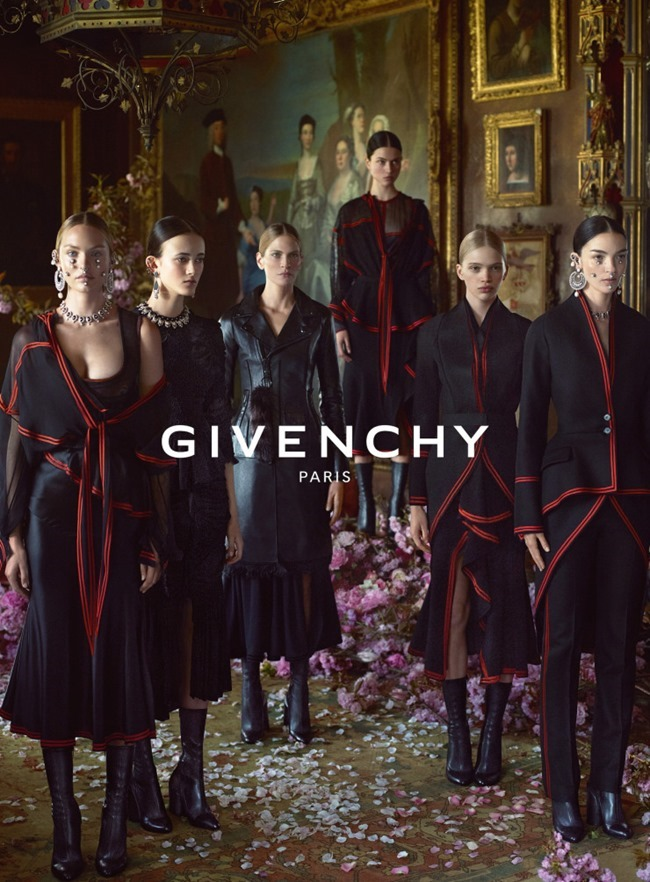 CAMPAIGN Givenchy Fall 2015 by Mert & Marcus. CArine Roitfeld, www.imageamplified.com, Image Amplified (9)