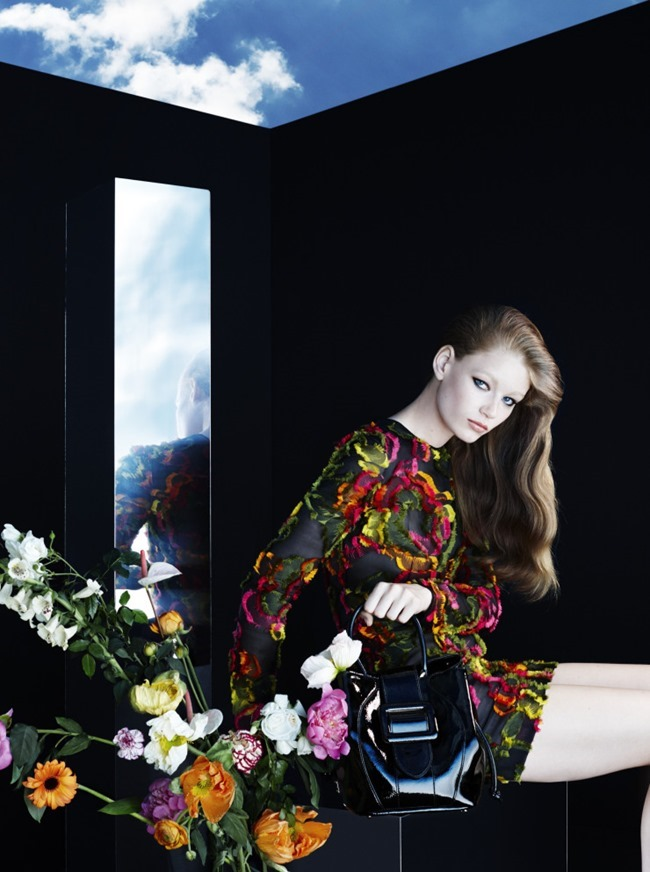 CAMPAIGN Hollie May Saker for Blumarine Fall 2015 by Camilla Akrans. Franck Benhamou, www.imageamplified.com, Image Amplified (7)