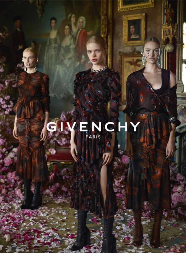 CAMPAIGN Givenchy Fall 2015 by Mert & Marcus. CArine Roitfeld, www.imageamplified.com, Image Amplified (1)