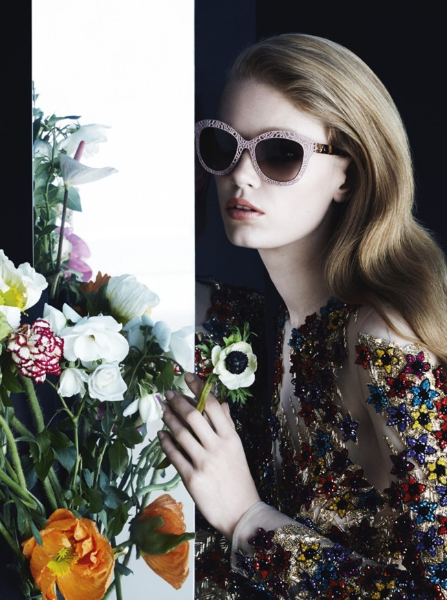 CAMPAIGN Hollie May Saker for Blumarine Fall 2015 by Camilla Akrans. Franck Benhamou, www.imageamplified.com, Image Amplified (9)