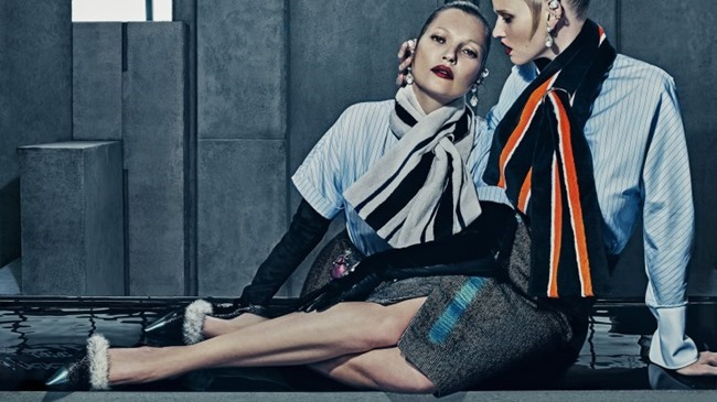CAMPAIGN Kate Moss & Lara Stone for Balenciaga Fall 2015 by Steven Klein. Panos Yiapanis, www.imageamplified.com, Image Amplified (8)