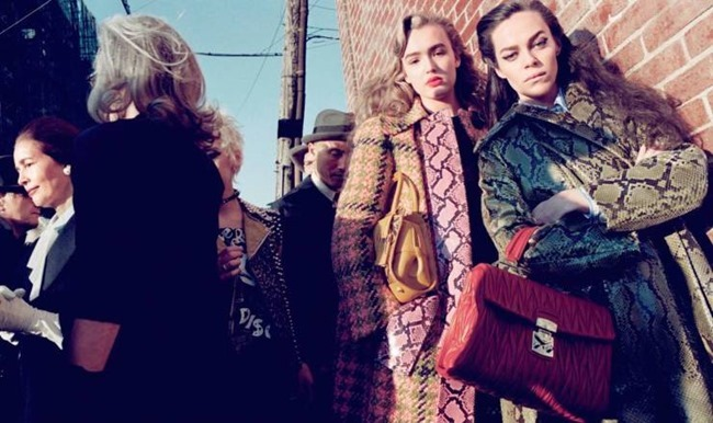 CAMPAIGN Miu Miu Fall 2015 by Steven Meisel. www.imageamplified.com, Image Amplified (1)