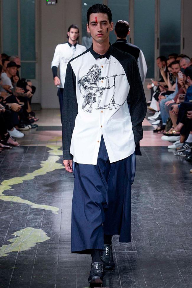 PARIS FASHION WEEK Yohji Yamamoto Spring 2016. www.imageamplified.com, Image Amplified (37)