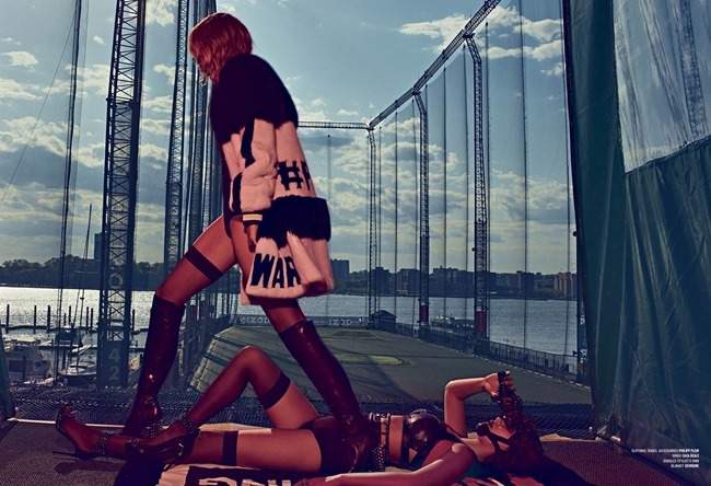 V MAGAZINE Bella Hadid & Gigi Hadid by Steven Klein. Patti Wilson, Summer 2015, www.imageamplified.com, Image Amplified (4)