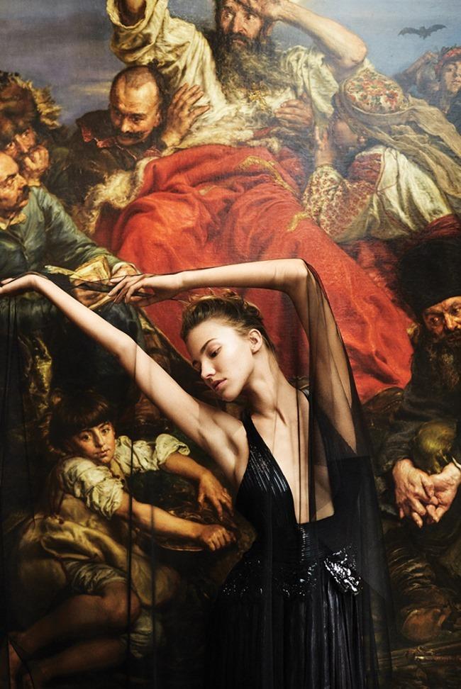 WSJ MAGAZINE Sasha Luss by Maciek Kobielski. George Cortina, August 2015, www.imageamplified.com, Image Amplified (6)