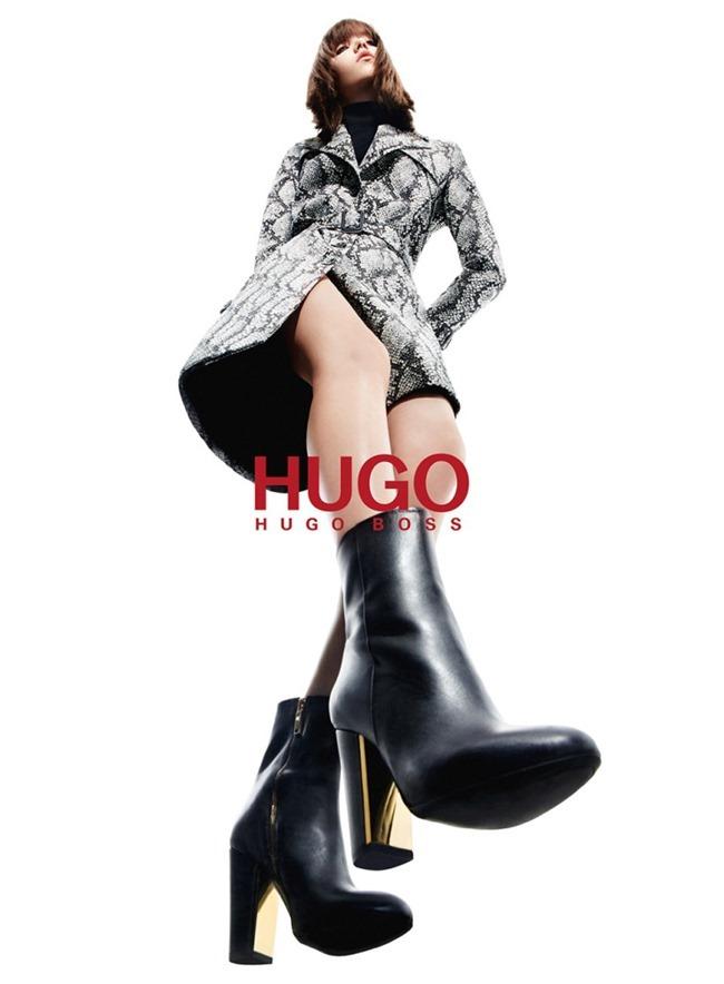 CAMPAIGN Grace Hartzel for Hugo by Hugo Boss Fall 2015 by Daniel Sannwald. Tom Van Dorpe, www.imageamplified.com, Image Amplified (1)