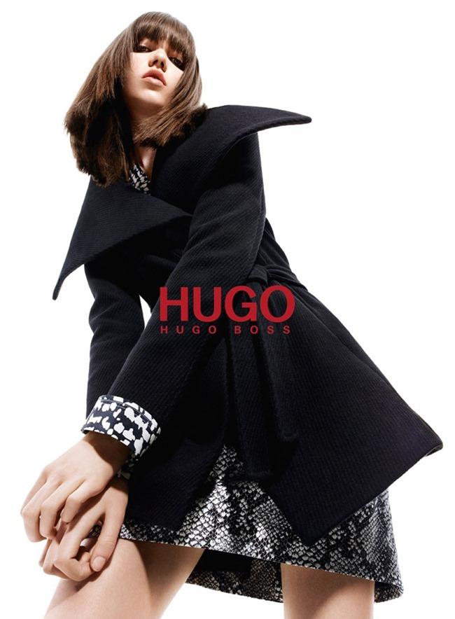 CAMPAIGN Grace Hartzel for Hugo by Hugo Boss Fall 2015 by Daniel Sannwald. Tom Van Dorpe, www.imageamplified.com, Image Amplified (4)