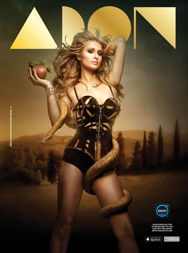 PREVIEW Paris Hilton for Adon Magazine, Summer 2015 by Mike Ruiz. www.imageamplified.com, Image Amplified (2)