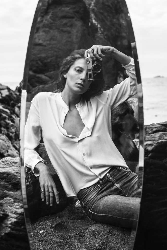 CAMPAIGN Daria Werbowy for Equipment Fall 2015 by Daria Werbowy. www.imageamplified.com, Image Amplified (3)