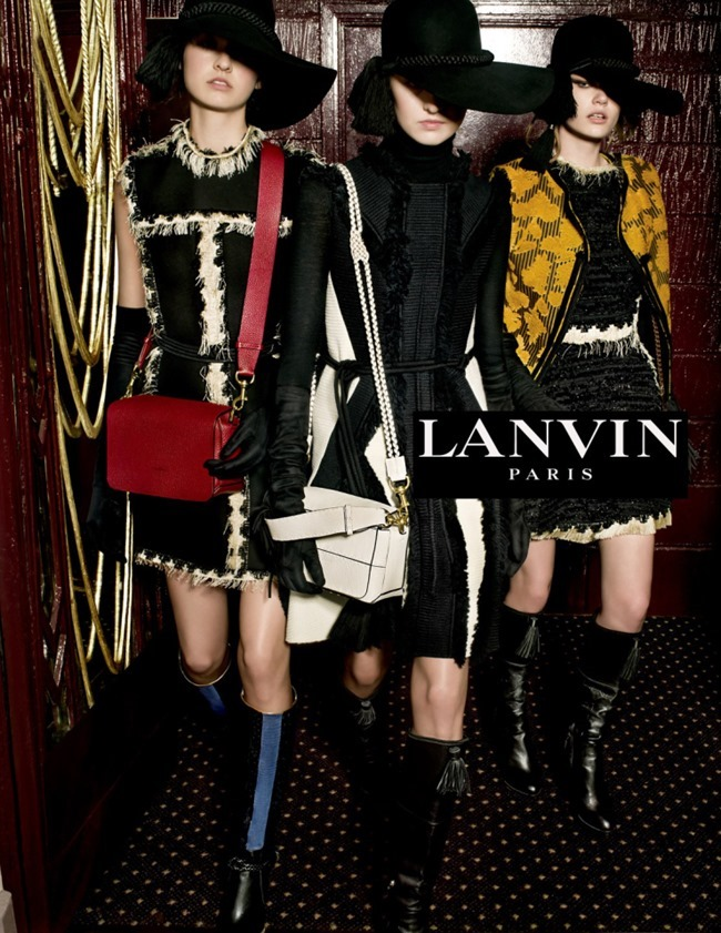 CAMPAIGN Lanvin Fall 2015 by Tim Walker. Jacob K, www.imageamplified.com, Image Amplified (1)