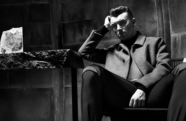 CAMPAIGN Sam Smith for Balenciaga Fall 2015 by Josh Olins.  Robbie Spencer, www.imageamplified.com, Image Amplified (4)