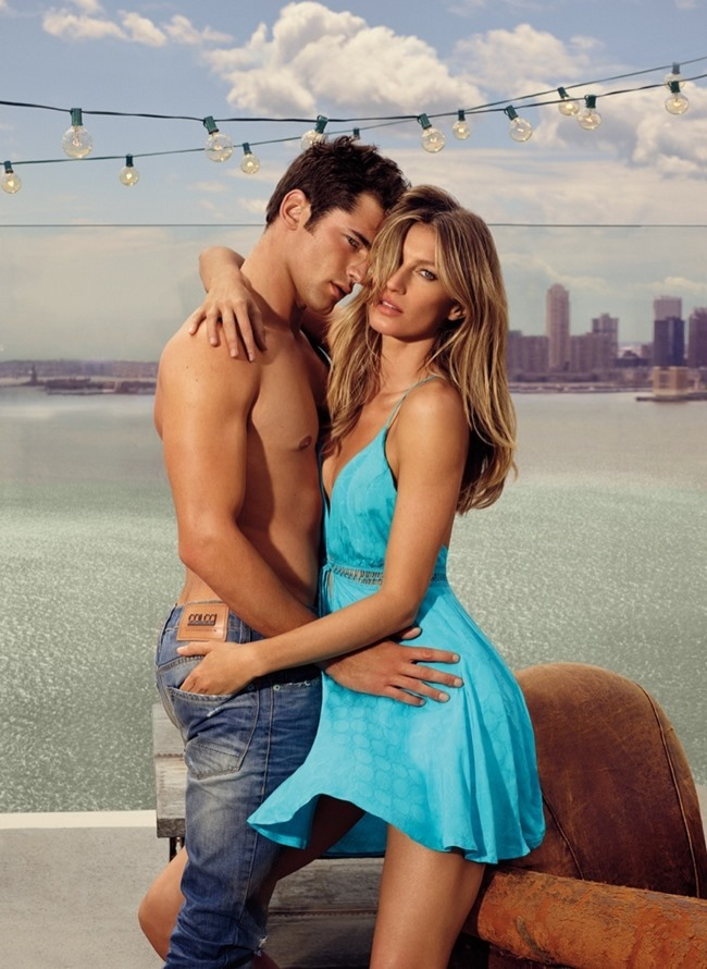 CAMPAIGN Gisele Bundchen & Sean O'Pry for Colcci Spring 2016 by Nino Munoz. www.imageamplified.com, Image Amplified (7)