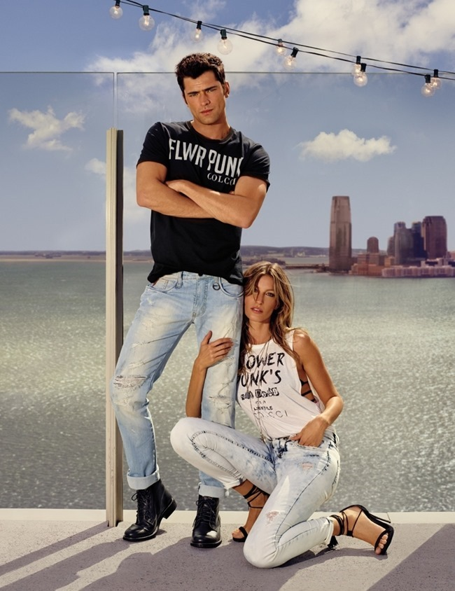 CAMPAIGN Gisele Bundchen & Sean O'Pry for Colcci Spring 2016 by Nino Munoz. www.imageamplified.com, Image Amplified (1)