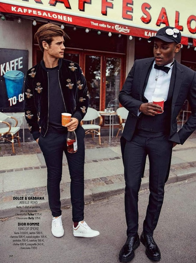GQ FRANCE Matt Trethe & Roger Dupe by Jonas Bie. James Sleaford, September 2015, www.imageamplified.com, Image Amplified (12)