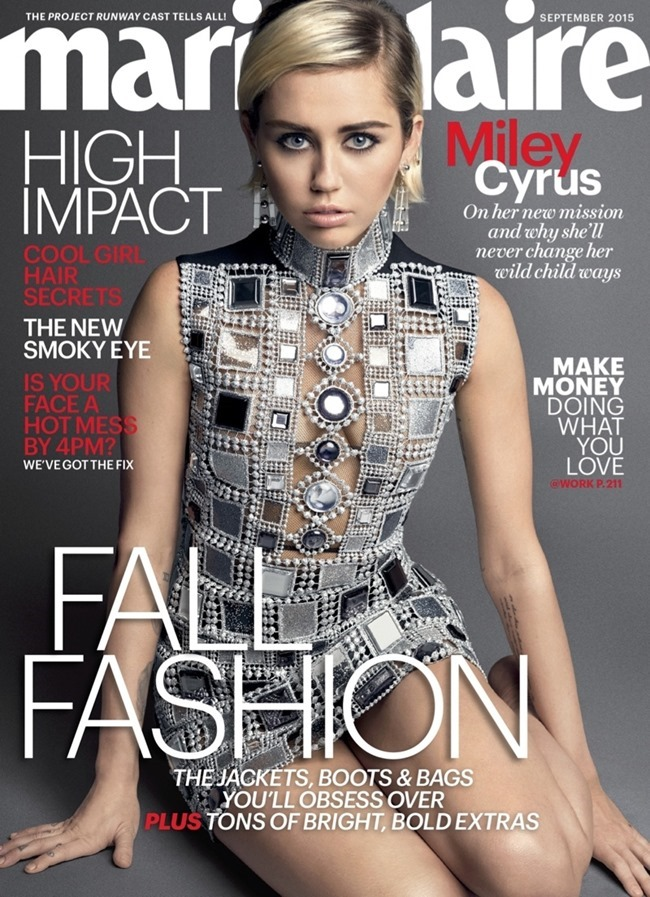 MARIE CLAIRE MAGAZINE Miley Cyrus by Mark Seliger. September 2015, www.imageamplified.comm, Image Amplified (5)