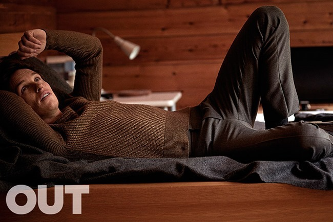OUT MAGAZINE Eddie Redmayne by John Balsom. Grant Woolhead, September 2015, www.imageamplified.com, Image Amplified (3)