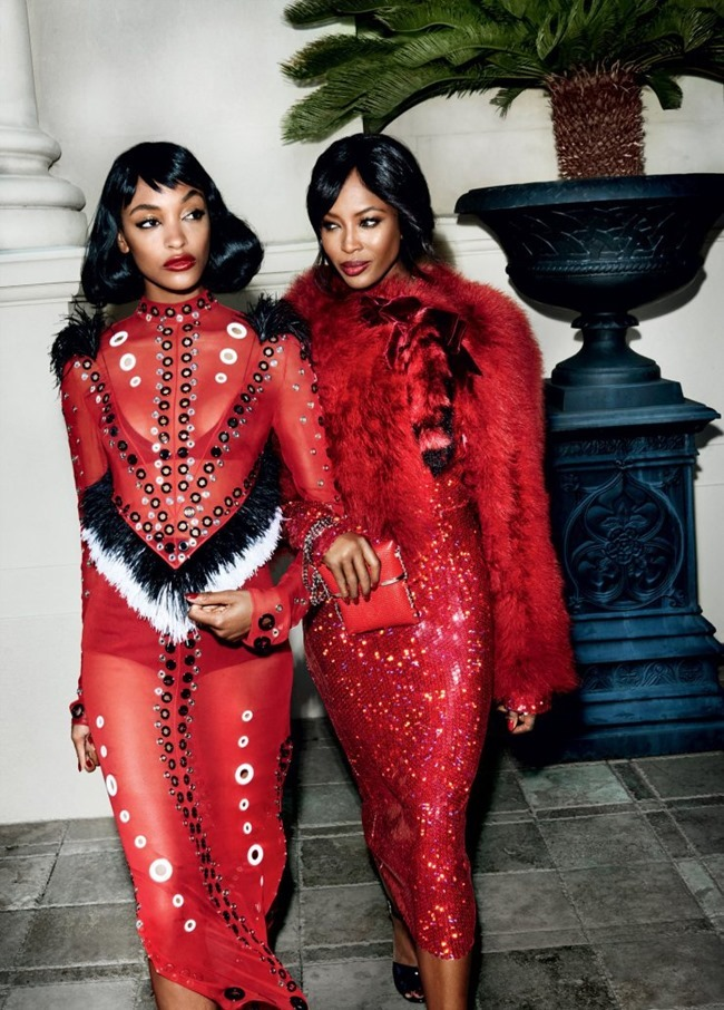 VOGUE MAGAZINE Empire Rises by Mario Testino. Camilla Nickerson, September 2015, www.imageamplified.com, Image Amplified (2)