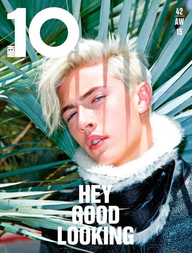 10 MEN MAGAZINE Lucky Blue Smith by Magnus Unnar. Garth Spencer, Fall 2015, www.imageamplified.com, Image Amplified (2)