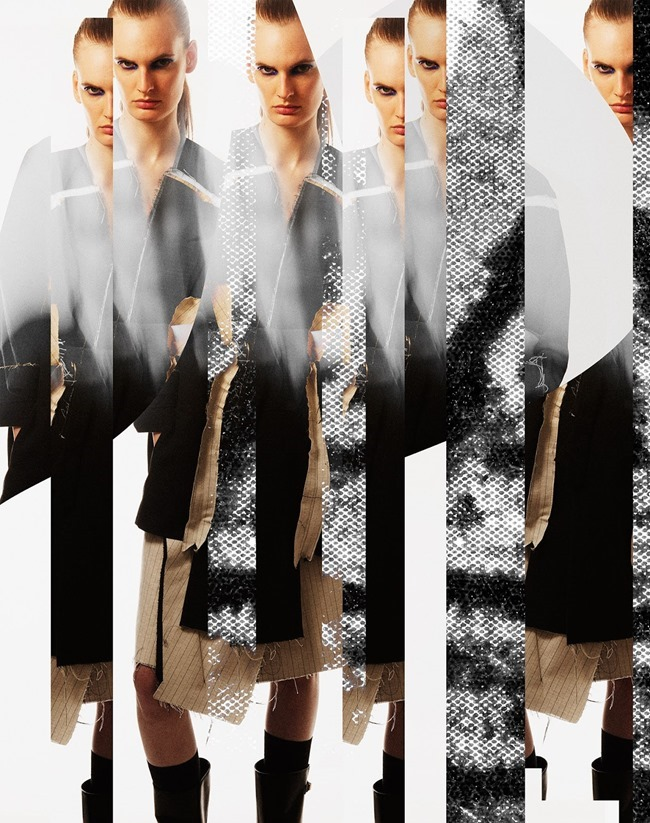 DANSK MAGAZINE Carolina Sjostrand by Martin Vallin. Elin Edlund, Fall 2015, www.imageamplified.com, Image amplified (8)