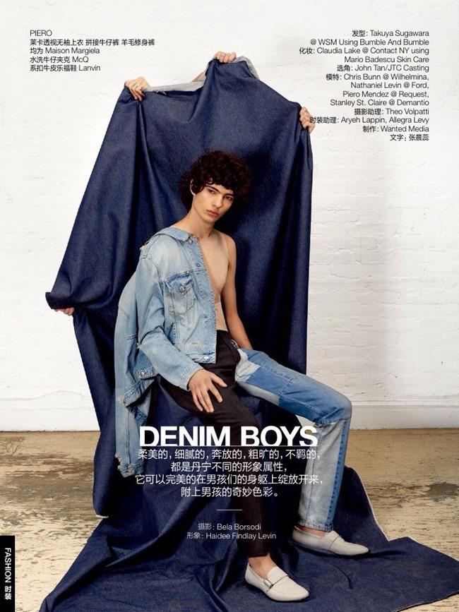 GQ CHINA Denim Boys by Bela Borsodi. Haidee Findlay Levin, August 2015, www.imageamplified.com, Image Amplified (2)