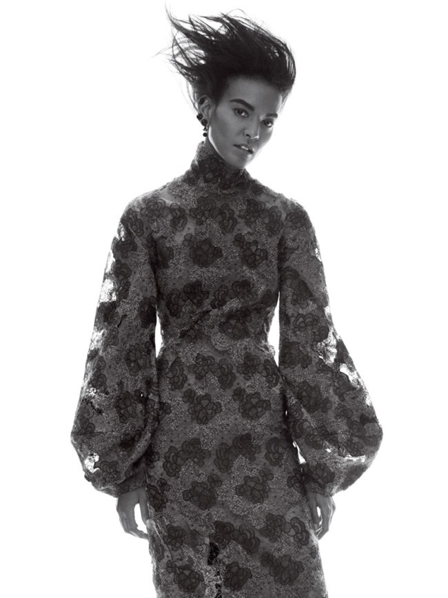 VOGUE MAGAZINE Liya Kebede by David Sims. Grace Coddington, September 2015, www.imageamplified.com, Image Amplified (9)