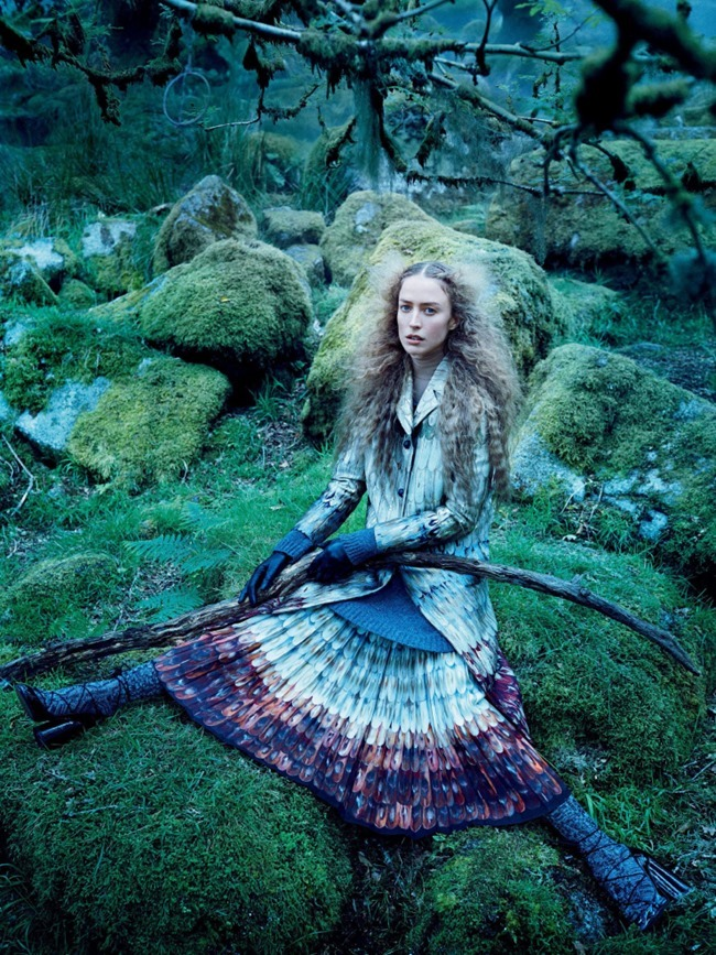 VOGUE MAGAZINE Raquel Zimmermann by Mikael Jansson. Tabitha Simmons, September 2015, www.imageamplified.com, Image amplified (5)