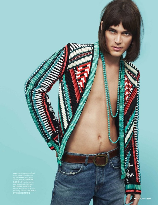 GQ STYLE UK Le freak, c'est chic by Thomas Cooksey. Jo Levin, Summer 2015, www.imageamplified.com, Image Amplified (1)