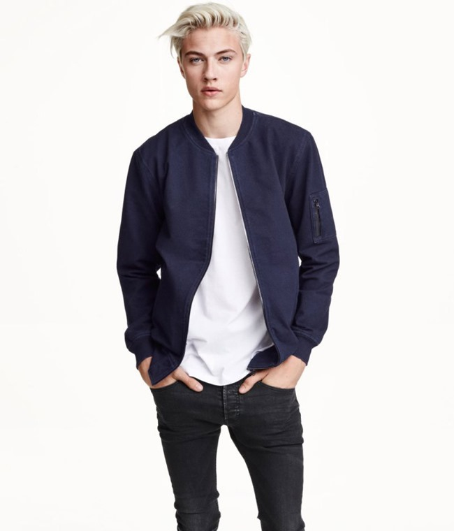LOOKBOOK Lucky Blue Smith for H&M Fall 2015. www.imageamplified.com, Image amplified (4)