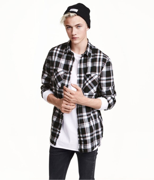 LOOKBOOK Lucky Blue Smith for H&M Fall 2015. www.imageamplified.com, Image amplified (10)