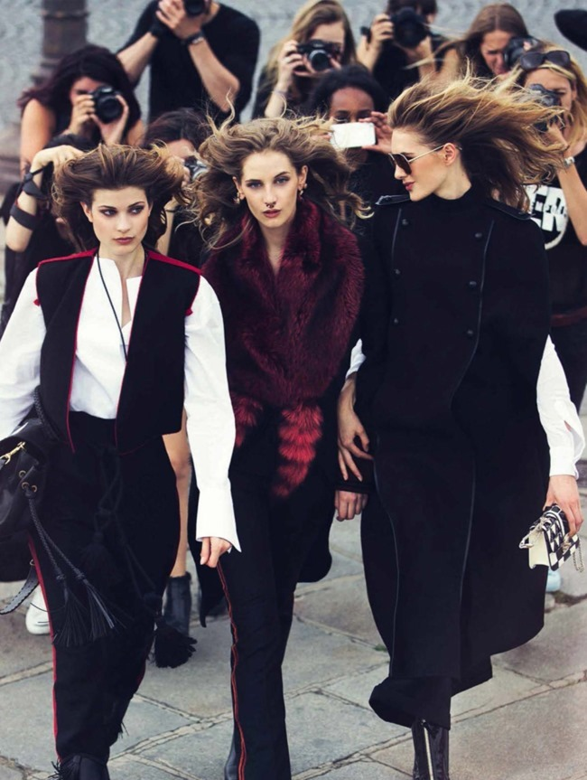 VOGUE SPAIN Sanne Vloet, Larissa Hofmann & Melina Gesto by David Bellemere. Marina Gallo, September 2015, www.imageamplified.com, Image Amplified (7)