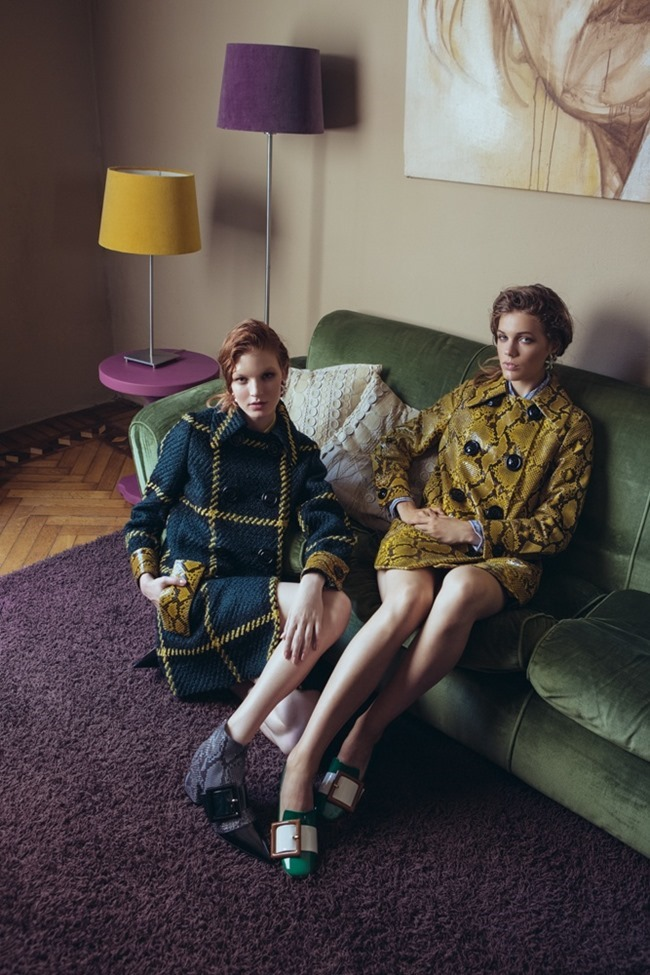 MADAME FIGARO JAPAN Lutza Horvath & Lois Schindler by Marco D'Amico. Naoko Sina, Fall 2015, www.imageamplified.com, Image Amplified (3)