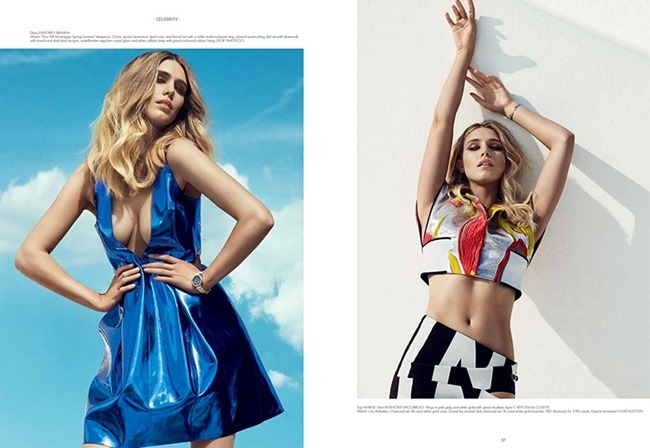 SO CHIC MAGAZINE Gaia Wess by Baard Lunde. Spring 2015, www.imageamplified.com, Image Amplified (4)