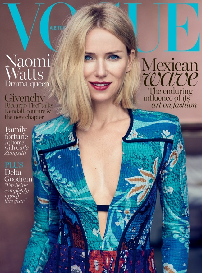 VOGUE AUSTRALIA Naomi Watts by Nathaniel Goldberg. Christine Centenera, October 2015, www.imageamplified.com, Image Amplified (1)