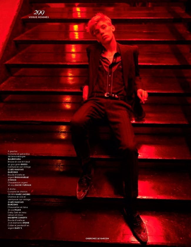 VOGUE HOMMES Cherchez le Garcon by Solve Sundsbo. Azza Yousif, Fall 2015, www.imageamplified.com, Image Amplified (14)