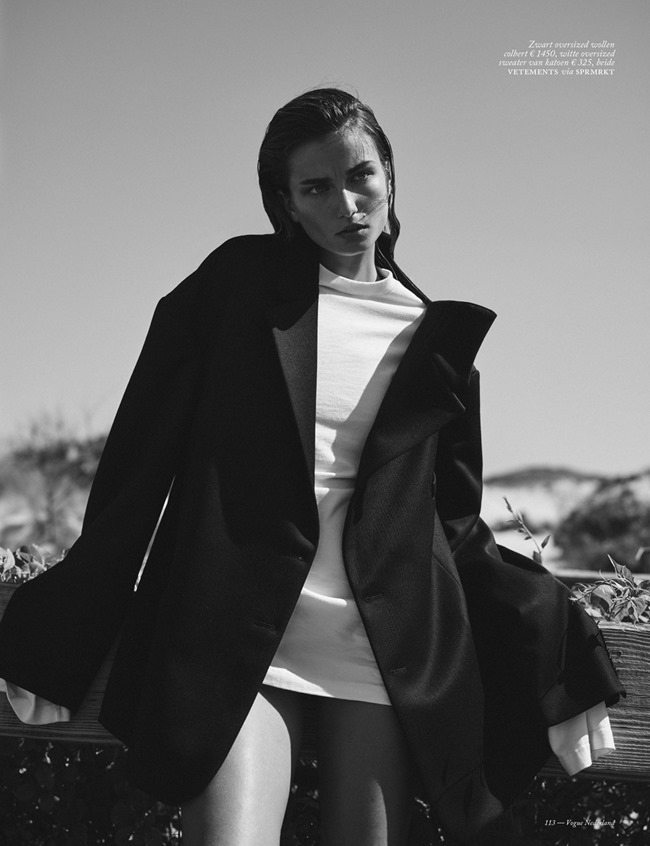 VOGUE NETHERLANDS Andreea Diaconu by Annemarieke van Drimmelen. Dimphy Den Otter, October 2015, www.imageamplified.com, Image Amplified (6)