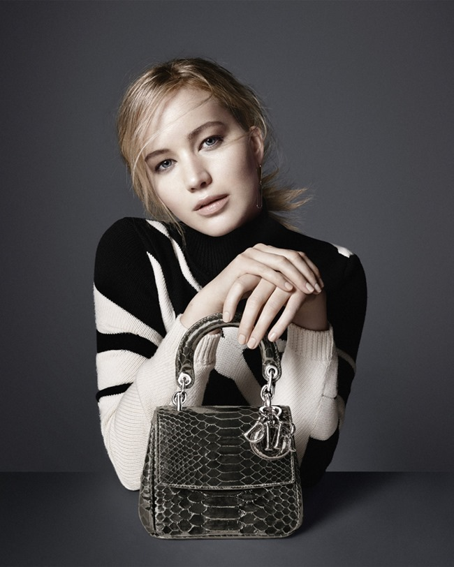 CAMPAIGN Jennifer Lawrence for Dior Accessories Fall 2015 by David Sims. www.imageamplified.com, Image Amplified (4)