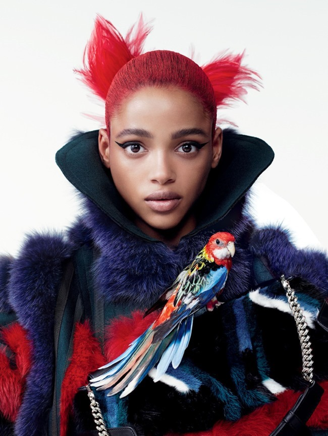 VOGUE MAGAZINE Flights of Fancy by Willy Vanderperre. Tabitha Simmons, October 2015, www.imageamplified.com, Image Amplified (2)