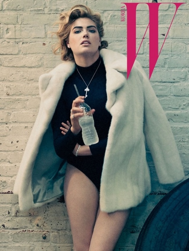 W KOREA Kate Upton by Norman Jean Roy. October 2015, www.imageamplified.comm, Image Amplified (1)