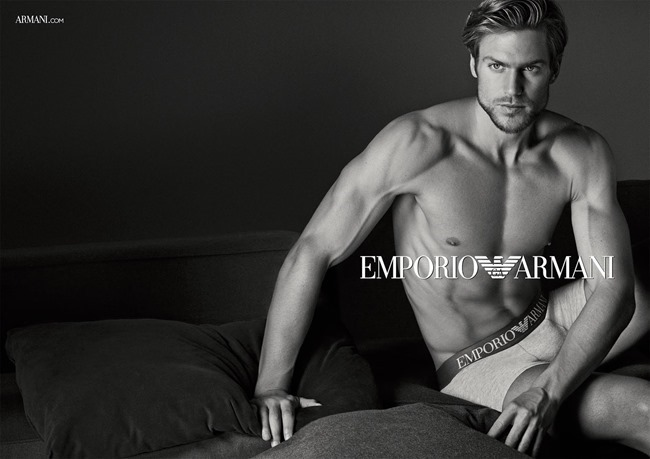 CAMPAIGN Jason Morgan for Emporio Armani Fall 2015 by Giampaolo Sgura. www.imageamplified.com, Image Amplified (2)