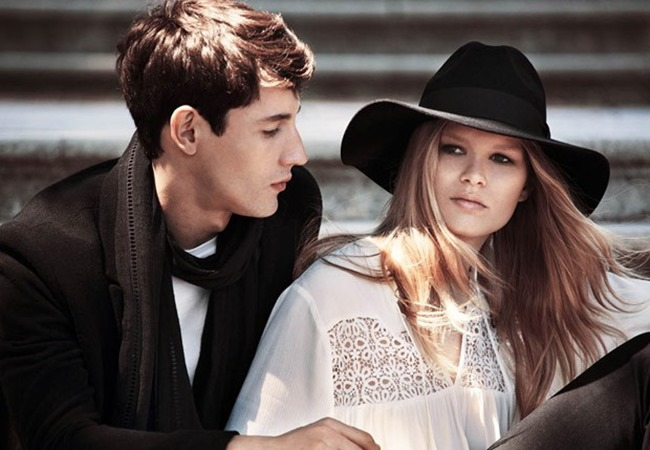 CAMPAIGN Nicolas Ripoll & Anna Ewers for H&M Fall 2015 by Josh Olins. David Hagglund, www.imageamplified.com, Image Amplified (2)