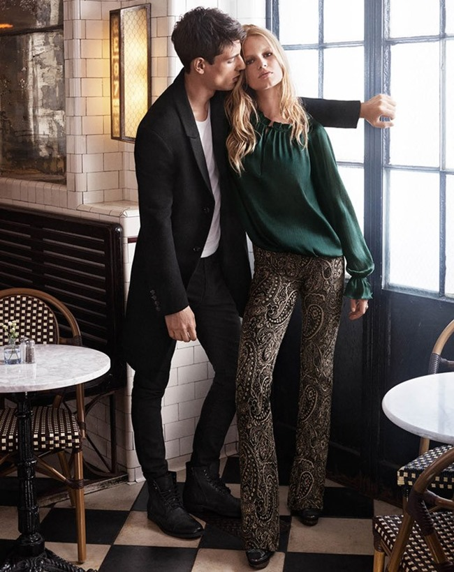 CAMPAIGN Nicolas Ripoll & Anna Ewers for H&M Fall 2015 by Josh Olins. David Hagglund, www.imageamplified.com, Image Amplified (7)