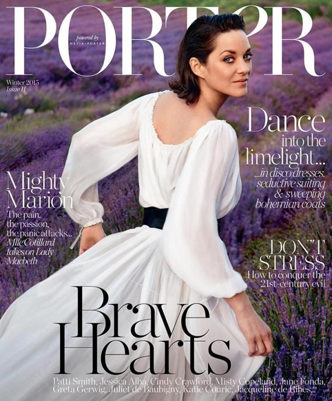 PORTER MAGAZINE Marion Cotillard by Ryan McGinley. George Cortina, Fall 2015, www.imageamplified.com, Image Amplified (10)