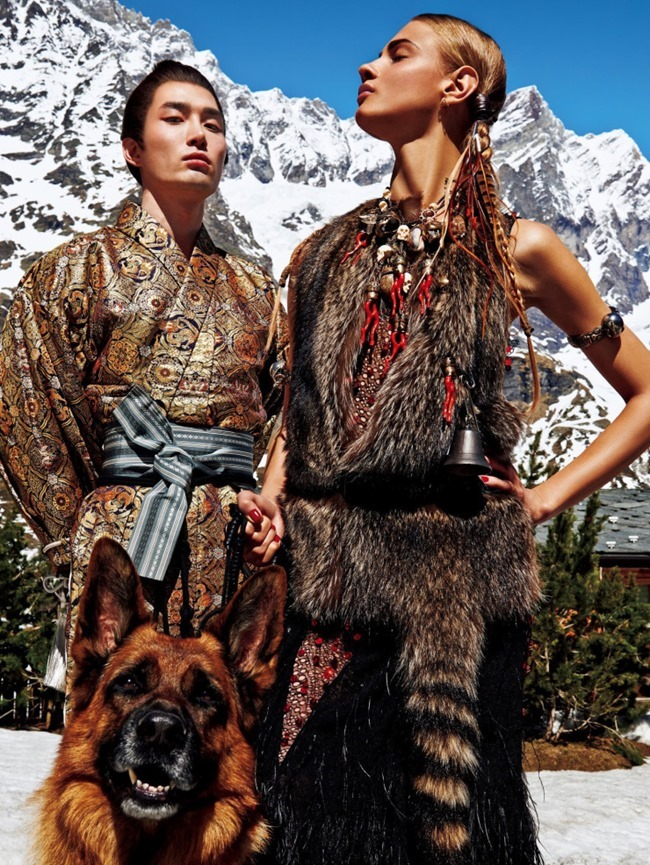 VOGUE JAPAN Sacred Tribes of Mont Cervin by Giampaolo Sgura. Anna Dello Russo, Miguel Arnau, November 2015, www.imageamplified.com, Image Amplified (2)