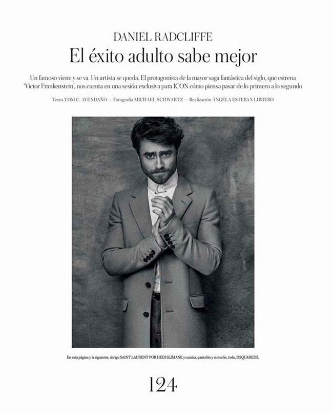 ICON MAGAZINE Daniel Radcliffe by Michael Schwartz. Fall 2015, www.imageamplified.com, Image Amplified (3)
