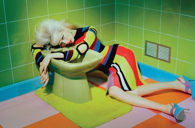 NUMERO MAGAZINE Lili Sumner by Miles Aldridge. Samuel Francois, November 2015, www.imageamplified.com, Image Amplified (1)