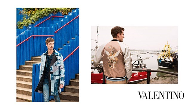 CAMPAIGN George Barnett & Egon Van Praet for Valentino Spring 2016 by David Bailey. Karl Templer, www.imageamplified.com, Image Amplified (3)
